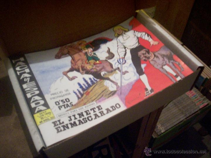 COLECCIÓN COMPLETA TEBEOS/CÓMIC HACHA Y ESPADA SUELTOS NUEVOS MAGA Nº 1-58 -1961 (Tebeos y Comics - Maga - Otros)