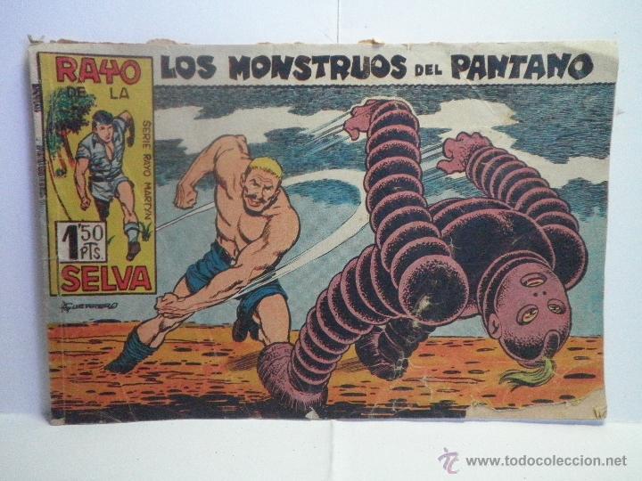 RAYO DE LA SELVA Nº 27 - LOS MONSTRUOS DEL PANTANO (Tebeos y Comics - Maga - Rayo de la Selva)