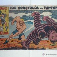 Tebeos: RAYO DE LA SELVA Nº 27 - LOS MONSTRUOS DEL PANTANO. Lote 40822621