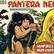 Tebeos: PEQUEÑO PANTERA NEGRA Nº147 (MIGUEL QUESADA) TEBEO ORIGINAL. Lote 40929858