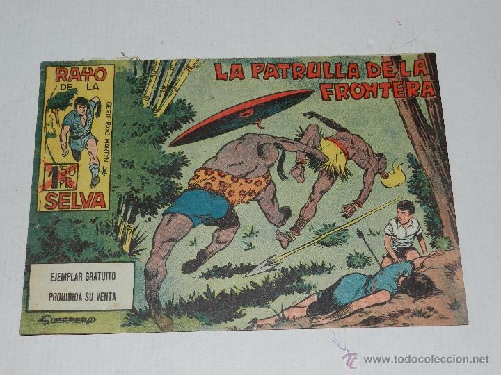 (M-1) RAYO DE LA SELVA NUM 1 , EDT MAGA , 1960, (Tebeos y Comics - Maga - Rayo de la Selva)