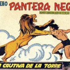 Tebeos: PEQUEÑO PANTERA NEGRA Nº187 (MIGUEL QUESADA) TEBEO ORIGINAL. Lote 40995992
