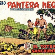 Tebeos: PEQUEÑO PANTERA NEGRA Nº189 (MIGUEL QUESADA) TEBEO ORIGINAL. Lote 40996047