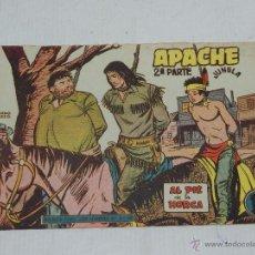 Livros de Banda Desenhada: (M-3) APACHE 2ª PARTE , NUM 60 , EDT MAGA, BUEN ESTADO. Lote 41047403