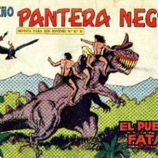 Tebeos: PEQUEÑO PANTERA NEGRA Nº202 (MIGUEL QUESADA) TEBEO ORIGINAL. Lote 41101366