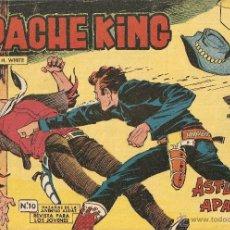 Tebeos: APACHE KING, AÑO 1.962. Nº 8 - 10 - 27. ORIGINALES. DIBUJANTE A. GUERRERO. EDITORIAL VALENCIANA,. Lote 41111788