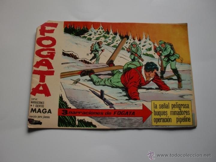 FOGATA Nº 16 ORIGINAL (Tebeos y Comics - Maga - Otros)