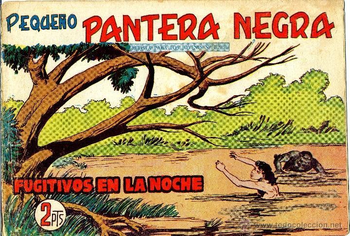 PEQUEÑO PANTERA NEGRA Nº252 (MIGUEL QUESADA) TEBEO ORIGINAL (Tebeos y Comics - Maga - Pantera Negra)