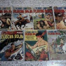 Tebeos: FLECHA ROJA LEYENDAS GRAFICAS - LOTE DE 7 NUMEROS 5PTS.. Lote 41395162