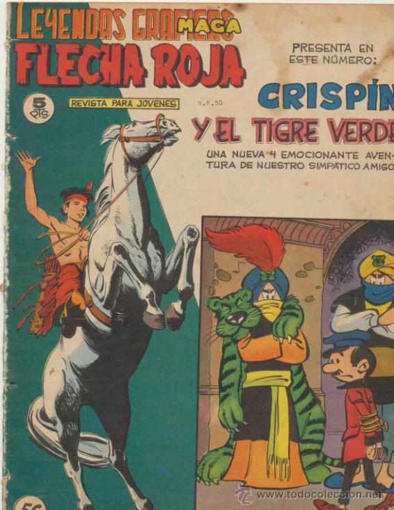 FLECHA ROJA REVISTA Nº 56 (Tebeos y Comics - Maga - Flecha Roja)