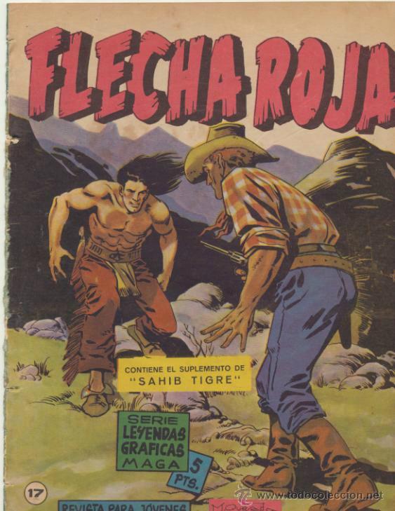 FLECHA ROJA REVISTA Nº 17 (Tebeos y Comics - Maga - Flecha Roja)