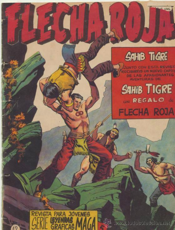 FLECHA ROJA REVISTA Nº 12 (Tebeos y Comics - Maga - Flecha Roja)
