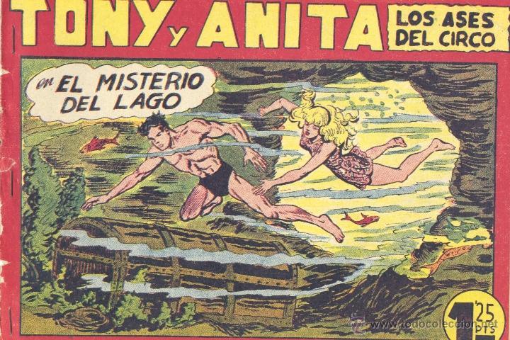 TONY Y ANITA Nº119 (EDITORIAL MAGA). DIBUJOS DE MANUEL GAGO (ORIGINAL) (Tebeos y Comics - Maga - Tony y Anita)