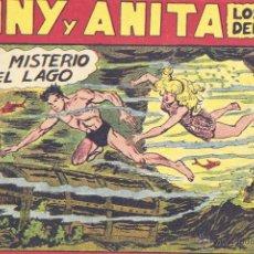 Tebeos: TONY Y ANITA Nº119 (EDITORIAL MAGA). DIBUJOS DE MANUEL GAGO (ORIGINAL) . Lote 41576941