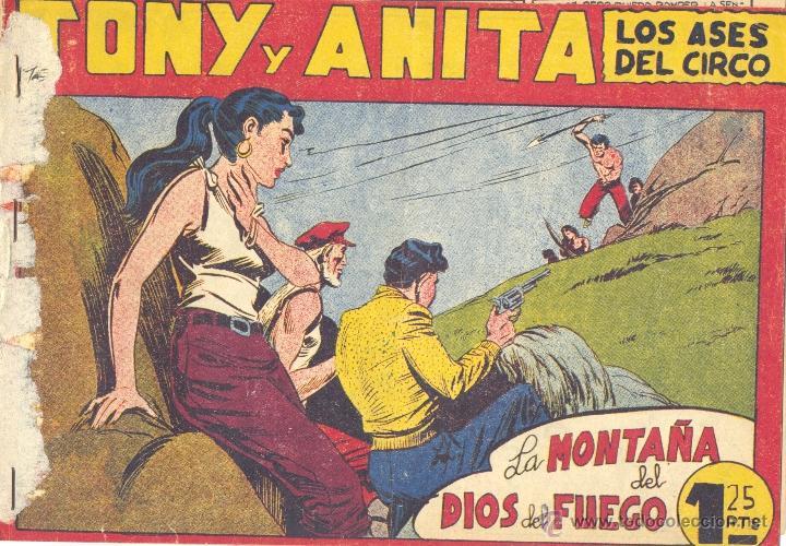 TONY Y ANITA Nº101 (EDITORIAL MAGA). DIBUJOS DE MIQUEL QUESADA (ORIGINAL) (Tebeos y Comics - Maga - Tony y Anita)