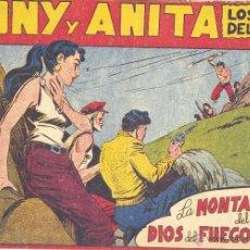 Tebeos: TONY Y ANITA Nº101 (EDITORIAL MAGA). DIBUJOS DE MIQUEL QUESADA (ORIGINAL) . Lote 41577085