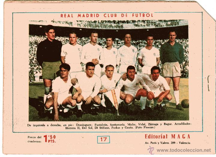 Tebeos: OLIMAN as del deporte nº 17 contraportada Real Madrid CF - Foto 2 - 41585393
