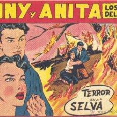 Tebeos: TONY Y ANITA Nº102 (EDITORIAL MAGA). DIBUJOS DE MIQUEL QUESADA (ORIGINAL) . Lote 41593165
