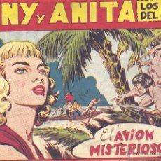 Tebeos: TONY Y ANITA Nº104 (EDITORIAL MAGA). DIBUJOS DE MIQUEL QUESADA (ORIGINAL) . Lote 41593240