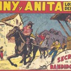 Tebeos: TONY Y ANITA Nº106 (EDITORIAL MAGA). DIBUJOS DE MIQUEL QUESADA (ORIGINAL) . Lote 41593396