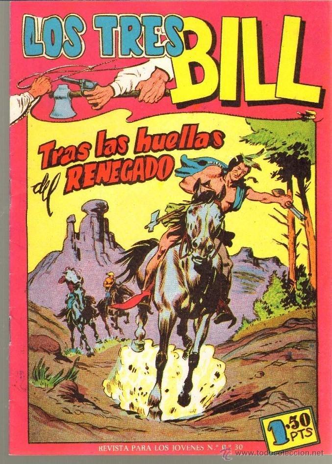 TEBEOS-COMICS CANDY - LOS TRES BILL - Nº 8 - MAGA - 1958 *UU99 (Tebeos y Comics - Maga - Otros)