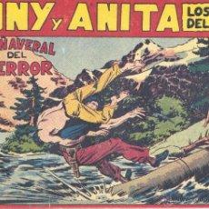 Tebeos: TONY Y ANITA Nº109 (EDITORIAL MAGA). DIBUJOS DE MIQUEL QUESADA (ORIGINAL) . Lote 41651726