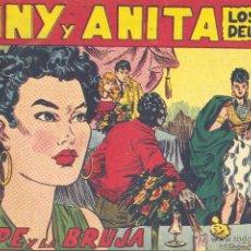 Tebeos: TONY Y ANITA Nº110 (EDITORIAL MAGA). DIBUJOS DE MIQUEL QUESADA (ORIGINAL) . Lote 41652065