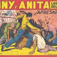 Tebeos: TONY Y ANITA Nº111 (EDITORIAL MAGA). DIBUJOS DE MIQUEL QUESADA (ORIGINAL) . Lote 41695733