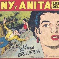 Tebeos: TONY Y ANITA Nº113 (EDITORIAL MAGA). DIBUJOS DE MIQUEL QUESADA (ORIGINAL) . Lote 41695819