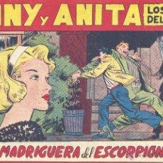 Tebeos: TONY Y ANITA Nº115 (EDITORIAL MAGA). DIBUJOS DE MIQUEL QUESADA (ORIGINAL). Lote 41716677