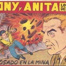 Tebeos: TONY Y ANITA Nº116 (EDITORIAL MAGA). DIBUJOS DE MIQUEL QUESADA (ORIGINAL) . Lote 41716706