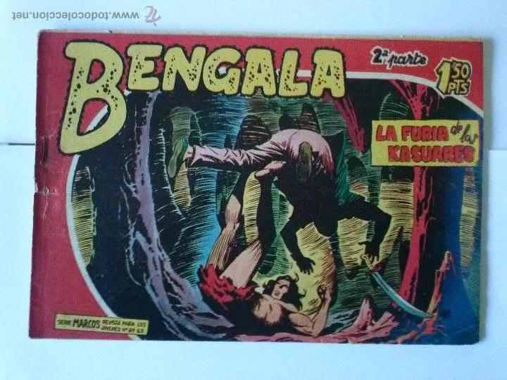 BENGALA - LA FURIA DE LOS KASUARES Nº 16 - 2ª (Tebeos y Comics - Maga - Bengala)