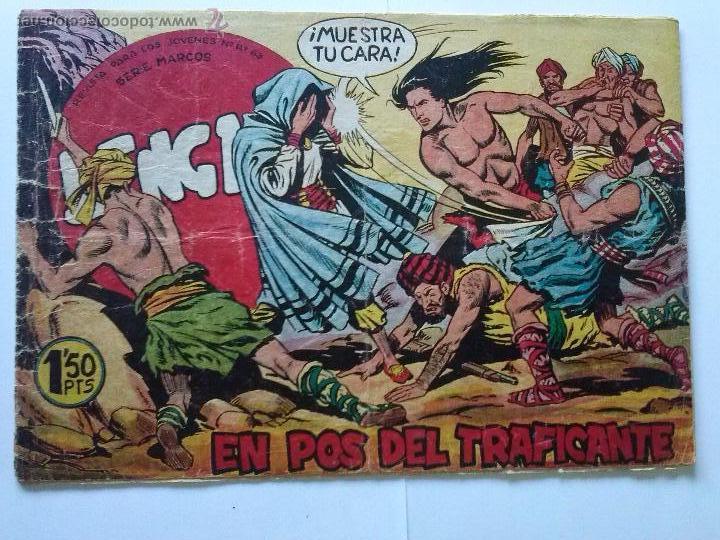BENGALA - EN POS DEL TRAFICANTE Nº 10 -1ª (Tebeos y Comics - Maga - Bengala)