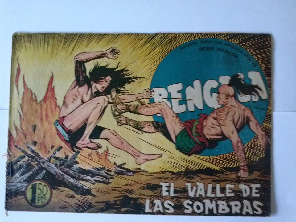 BENGALA EL VALLE DE LAS SOMBRAS Nº 36-1 (Tebeos y Comics - Maga - Bengala)