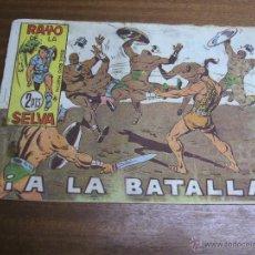 Tebeos: RAYO DE LA SELVA Nº 77: ¡ A LA BATALLA ! / MAGA ORIGINAL. Lote 41740234