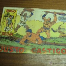 Tebeos: RAYO DE LA SELVA Nº 79: JUSTO CASTIGO / MAGA ORIGINAL. Lote 41740255