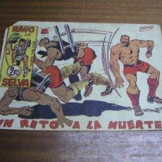 Tebeos: RAYO DE LA SELVA Nº 66: UN RETO A LA MUERTE / MAGA ORIGINAL. Lote 41746127