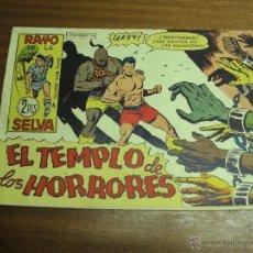 Giornalini: RAYO DE LA SELVA Nº 56: EL TEMPLO DE LOS HORRORES / MAGA ORIGINAL. Lote 41746209