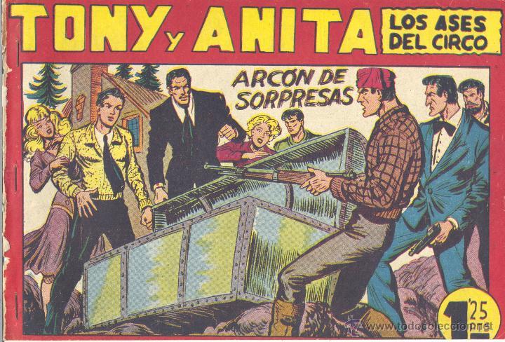 TONI Y ANITA 120. EDITORIAL MAGA. GAGO. TEBEO ORIGINAL (Tebeos y Comics - Maga - Tony y Anita)
