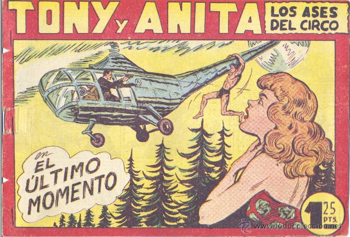 TONY Y ANITA Nº121 (EDITORIAL MAGA). DIBUJOS DE MANAUEL GAGO (ORIGINAL) (Tebeos y Comics - Maga - Tony y Anita)