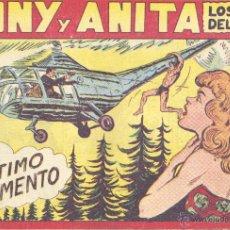 BDs: TONY Y ANITA Nº121 (EDITORIAL MAGA). DIBUJOS DE MANAUEL GAGO (ORIGINAL) . Lote 41761329