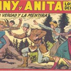 Tebeos: TONI Y ANITA 124. EDITORIAL MAGA. GAGO. TEBEO ORIGINAL . Lote 41761362