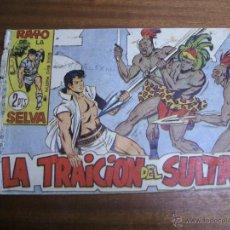 Tebeos: RAYO DE LA SELVA Nº 51: LA TRAICIÓN DEL SULTÁN / MAGA ORIGINAL. Lote 41769487