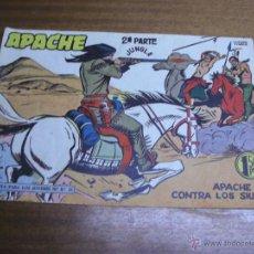Livros de Banda Desenhada: APACHE 2ª PARTE Nº 50: APACHE CONTRA LOS SIUX / MAGA ORIGINAL. Lote 41770566