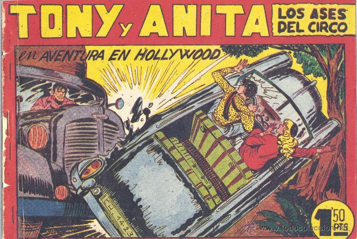 TONI Y ANITA 129. EDITORIAL MAGA. MANUEL GAGO. TEBEO ORIGINAL (Tebeos y Comics - Maga - Tony y Anita)