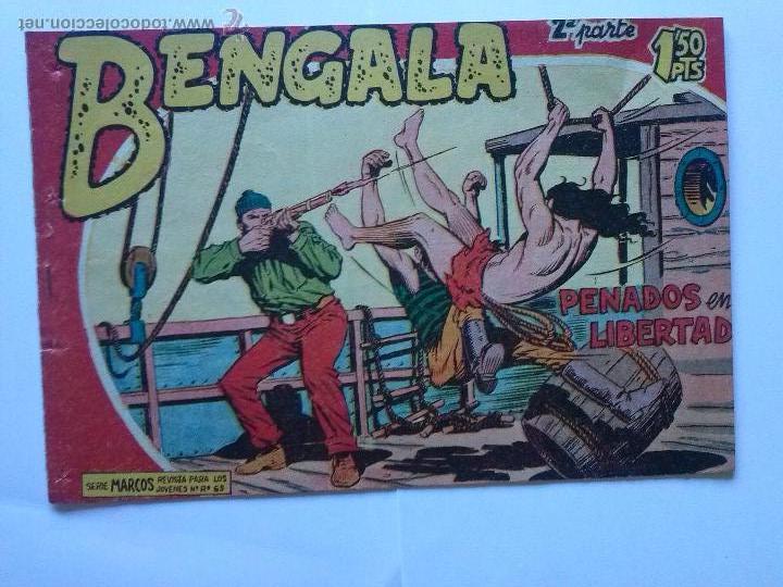 BENGALA- PENADOS EN LIBERTAD, Nº17-RECORTADO-BENGALA 2ª (Tebeos y Comics - Maga - Bengala)