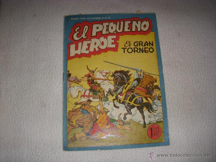 EL PEQUEÑO HÉROE Nº 36, EDITORIAL MAGA (Tebeos y Comics - Maga - Pequeño Héroe)