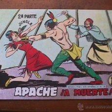 Tebeos: APACHE 2ª PARTE, Nº 56, MAGA, REEDICION. Lote 42026295