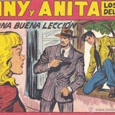 Tebeos: TONY Y ANITA Nº130 (EDITORIAL MAGA). DIBUJOS DE MIQUEL MANUEL GAGO (ORIGINAL). Lote 42034386