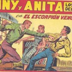 Tebeos: TONI Y ANITA 117. EDITORIAL MAGA. GAGO. TEBEO ORIGINAL . Lote 42060737